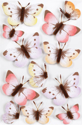 Sunny Days Ombre Butterfly Embellishment by Martha Stewart Crafts EK SUCCESS New