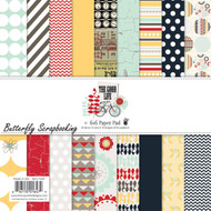 The Good Life Collection Scrapbooking 6x6 inch Paper Pad Fancy Pants 36 Shee NEW