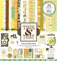 This & That Boy Collection 12X12 Scrapbooking Kit Echo Park Paper Co New