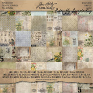 TIM HOLTZ IDEA-OLOGY 12X12 Scrapbooking Paper Pad Paper Stash WALLFLOWER NEW