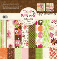 VICKI B Collection Kit 12x12 Scrapbooking Kit by Bo Bunny BoBunny CPVB939 NEW