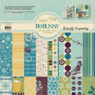 Winter Snowflake Snow Day Collection 12x12 Scrapbooking Kit BoBunny 13716574 New