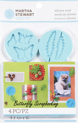 Woodland Design Mold for Crafter Clay Martha Stewart Crafts Paper Crafting NEW