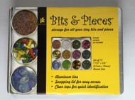 Bits & Pieces, Aluminum Storage Containers -NEW, 20-9103