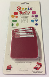 Sizzix Sizzlits, Dies Button Set - NEW, 38-9690