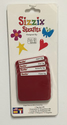 Sizzix Sizzlits, Dies Tag Set #3 - NEW, 38-8029