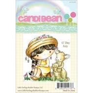 G'Day Izzy Kangaroo, Unmounted Rubber Stamp LITTLE DARLINGS - 7036