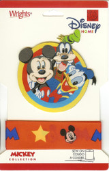 Disney Mickey Collection Ribbon and Patch - NEW, 1886082001M
