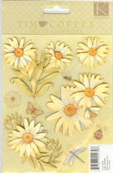 Grand Adhesions Flower Stickers - NEW, 554306
