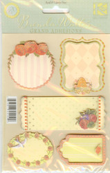 Flora Bella Journal Tags, Stickers, K&COMPANY - NEW, 554122