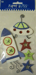 Outer Space, Stickers - NEW, 26707-PE-101