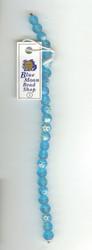 Blue Czech Glass Beads