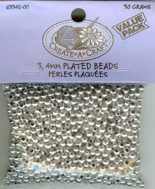 Silver Plated Beads