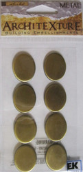Brass Oval Tiles