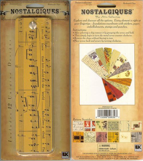 Nostalgiques Bookmark Chips