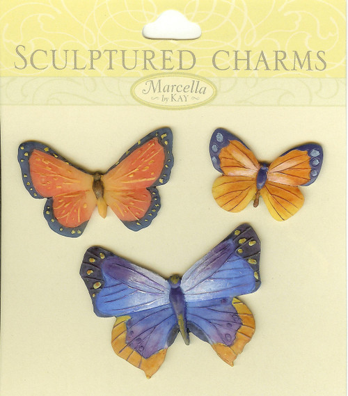 Butterfly Sculptured Charms