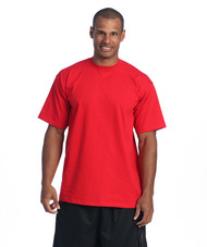 e592f99d ProClub Men's Short Sleeve T Shirt - Heavy Weight Fabrics, 5XL