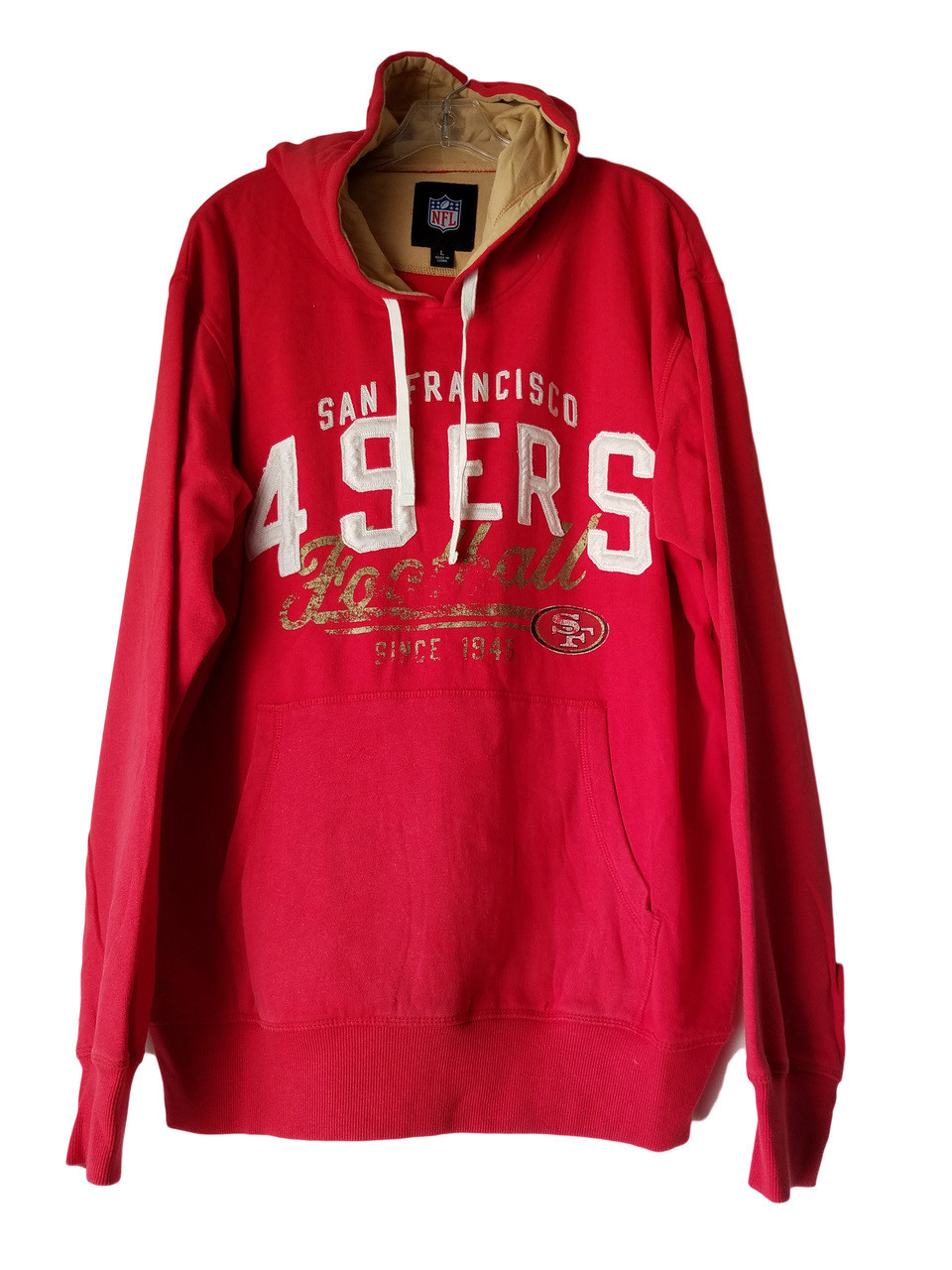 San Francisco 49ers Vintage Style Pullover Hoodies - e proclub.com 5f60be8a0