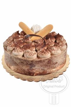 Tiramisu 8 Inch Deluxe Cake