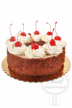 Black Forest 8 Inch Deluxe Cake