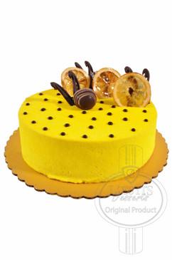 Lemon 8 Inch Deluxe Cake