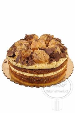Profiterole 8 Inch Deluxe Cake