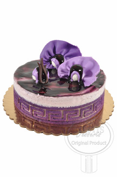Blueberry 8 Inch Deluxe Cake