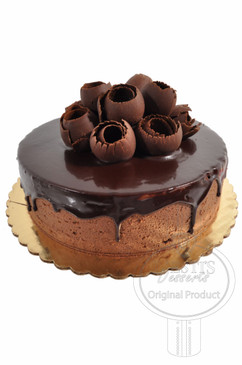 Truffle 8 Inch Deluxe Cake