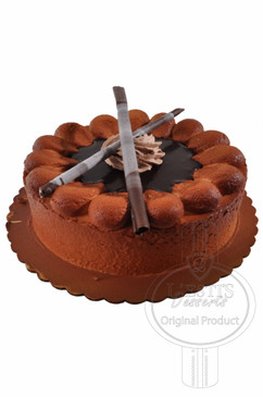 Chocolate Cigar 8 Inch Deluxe Cake