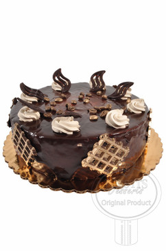 Mocha 8 Inch Deluxe Cake