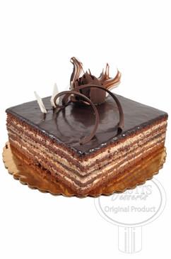Opera 8 Inch Deluxe Cake