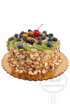 Fruit Cheese Cake 8 Inch Deluxe Cake
