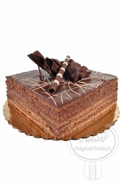Espresso 8 Inch Deluxe Cake