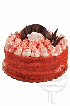 Red Velvet 6 Inch Deluxe Cake