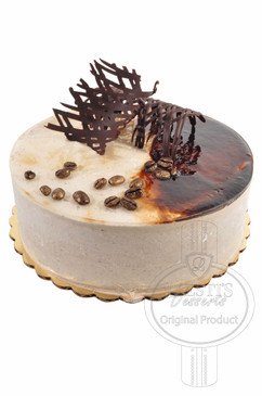 Cappuccino 6 Inch Deluxe Cake
