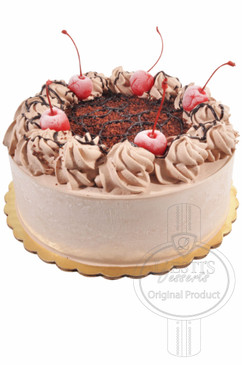 Black Forest 6 Inch Deluxe Cake