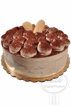 Tiramisu 6 Inch Deluxe Cake