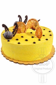 Lemon 6 Inch Deluxe Cake