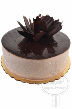 Chocolate Mousse 6 Inch Deluxe Cake