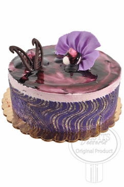 Blueberry 6 Inch Deluxe Cake