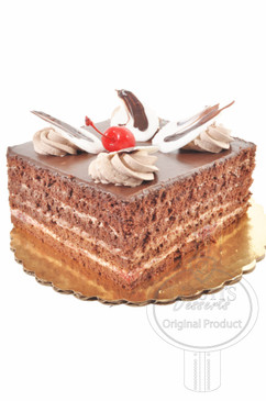 Black Forest Square 6 Inch Deluxe Cake