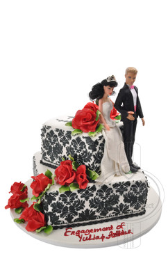 Engagement Cake 03
