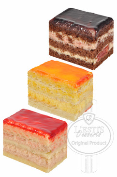 Rectangle Mini Pastries 52