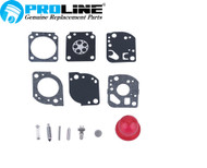 Proline® Carburetor Kit For C1U-W19 Poulan Ryobi Homelite Zama RB-117 530071811