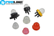 Proline® Primer Bulb 7 pc Assortment for Zama Walbro Craftsman MTD Poulan Stihl Ryobi Echo