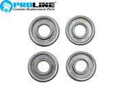 "Proline® Wheel Bearing 4 Pk For Craftsman Walk Behind Mowers 917.377240  1 1/8"" OD x 1/2"" ID"