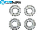 "Proline® Flanged Wheel Bearing  5/8"" ID x 1-3/8"" OD 4 Pk Lawnmower"