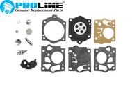 Proline® Homelite Super XL McCulloch Walbro Carburetor Rebuild Kit K10-SDC