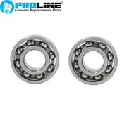 Proline® Crankshaft Bearing Set For Echo Trimmer Blower Pole Saw Hedge 9403536201