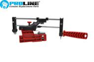 Proline® Super Quik Chainsaw Sharpening File Guide Bar Mount Stihl Husqvarna Poulan